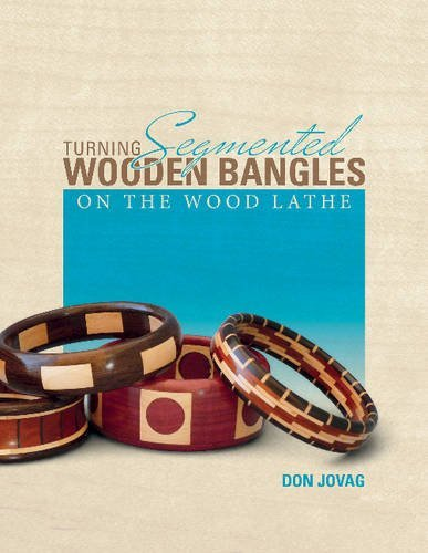 Don Jovag Turning Segmented Wooden Bangles On The Wood Lathe