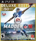 Ps3 Madden Nfl 16 Deluxe Edition