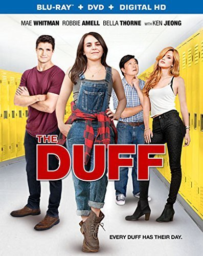 The Duff Whitman Amell Thorne Jeong Blu Ray DVD Dc Pg13