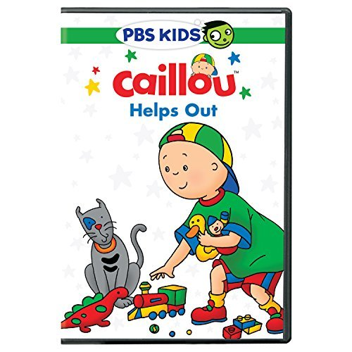 Caillou Caillou Helps Out DVD
