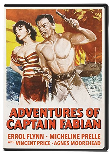 Adventures Of Captain Fabian Flynn Prelle Price DVD Nr