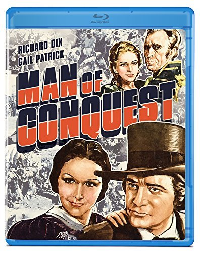Man Of Conquest Dix Patrick Blu Ray Nr