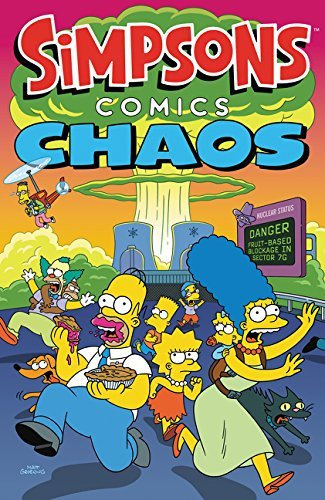 Matt Groening Simpsons Comics Chaos