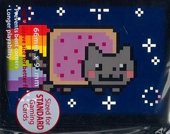 Card Sleeves Nyan Cat 50 Sleeves Per Pack