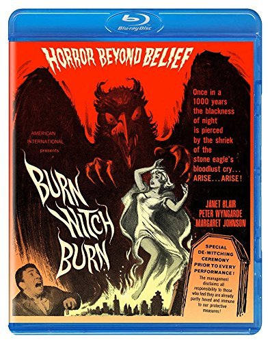 Burn Witch Burn Wyngarde Blair Blu Ray Nr