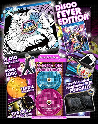 Playstation Vita Persona 4 Dancing All Night Disco Fever Edition