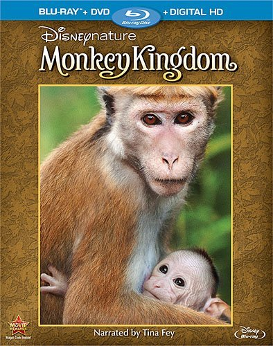 Disneynature Monkey Kingdom Blu Ray DVD