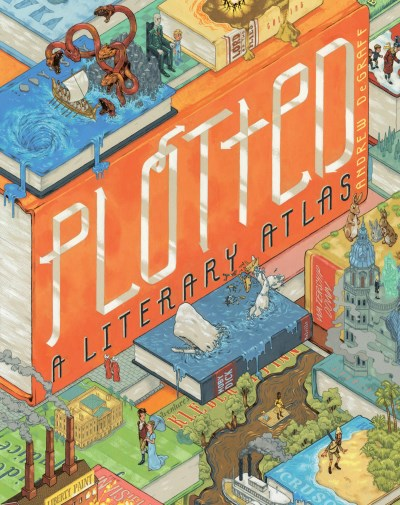 Andrew Degraff Plotted A Literary Atlas