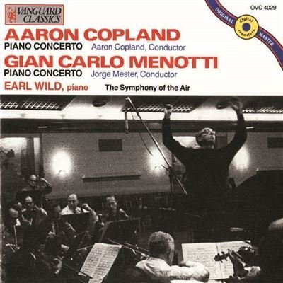 Copland Aaron Menotti Gian C Symphony Of The Air .