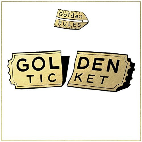 Golden Rules Golden Ticket (gold Vinyl) Limted To 800 Copies 2lp .