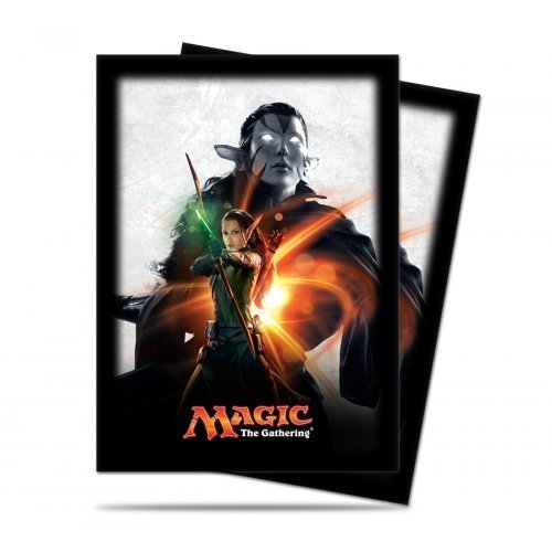 Card Sleeves Mtg Origins Nissa Revane