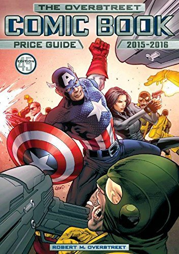 Robert M. Overstreet The Overstreet Comic Book Price Guide 0045 Edition;2015 2016