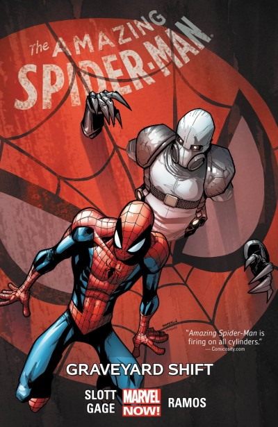 Dan Slott Amazing Spider Man Volume 4 Graveyard Shift