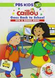 Caillou Caillou Goes Back To School DVD