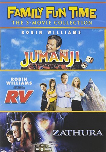 Jumanji Rv Zathura Family Fun Time Collection