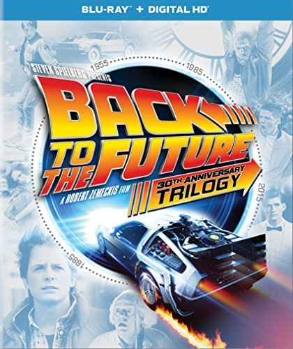 Back To The Future 30th Anniversary Trilogy Blu Ray Dc Pg