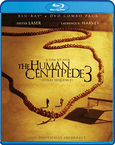 Human Centipede 3 The Final Sequence Roberts Olsen Blu Ray DVD Nr