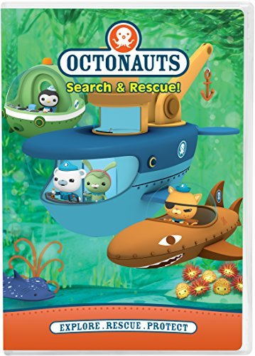 Octonauts Search & Rescue DVD