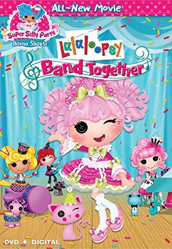 Lalaloopsy Band Together DVD