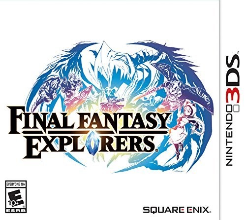 Nintendo 3ds Final Fantasy Explorers Final Fantasy Explorers