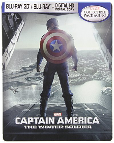 Captain America The Winter Soldier Evans Jackson Johansson Steelbook Captain America The Winter Soldier