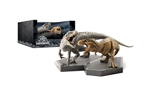 Jurassic World Collection 3d Blu Ray DVD Dc With Figurines