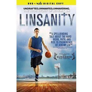 Jeremy Lin Linsanity (2013) DVD +digital Copy