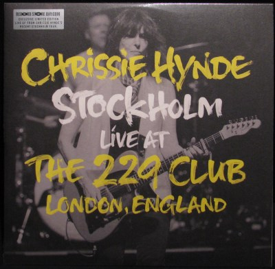 Chrissie Hynde Stockholm Live At The 229 Club London England 2014