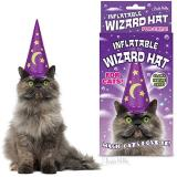 Gift Wizard Hat Inflatable For Cats