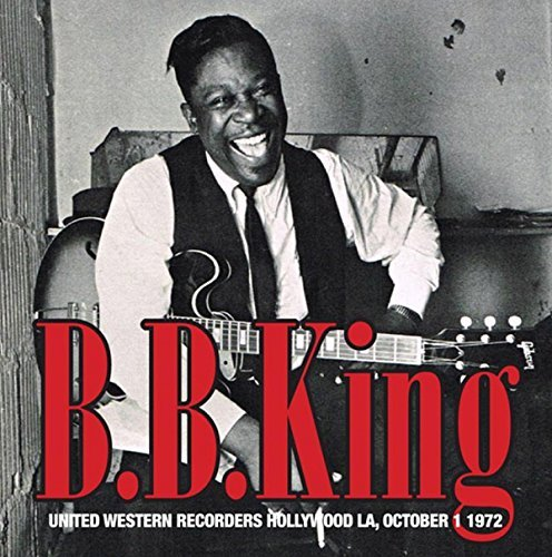 B.B. King United Western Recorders Hollywood La 10 1 72 2lp