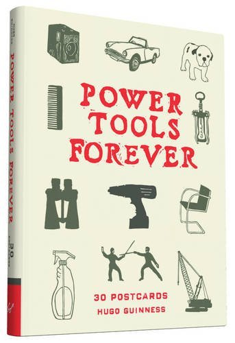 Hugo Guinness Power Tools Forever 30 Postcards