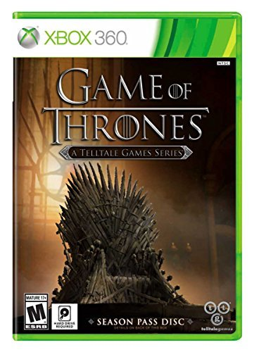 Xbox 360 Game Of Thrones A Telltale Games Series