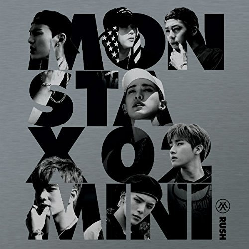 monsta-x-rush-2nd-mini-album-official-import-kor-1cd-1-photo-card