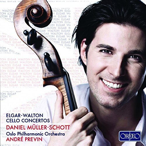 Elgar Walton Con For Solo Vc & Full Orch Muller Schott (vc)