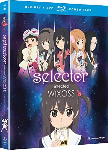 Selector Infected Wixoss Complete Series Blu Ray DVD