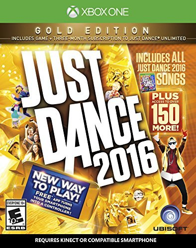 Xbox One Just Dance 2016 Gold Edition Just Dance 2016 Gold Edition