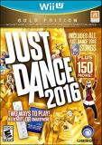 Wii U Just Dance 2016 Gold Edition Just Dance 2016 Gold Edition