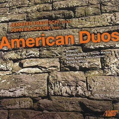 Frautschi Jennifer Blacklow American Duos For Violin & Pia