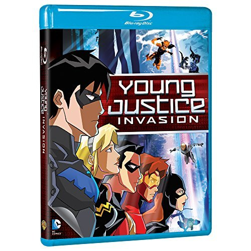 Young Justice Invasion Young Justice Invasion Blu Ray Mod This Item Is Made On Demand Could Take 2 3 Weeks For Delivery