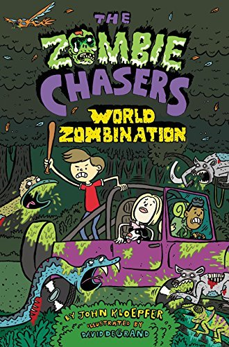 John Kloepfer The Zombie Chasers #7 World Zombination