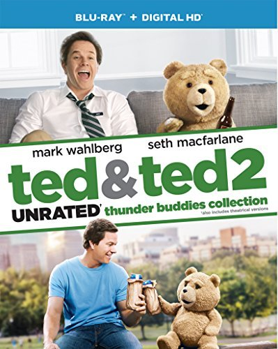 Ted Ted 2 Double Feature Blu Ray Dc Unrated Thunder Buddies Collection