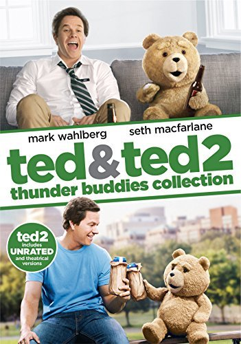 Ted Ted 2 Double Feature DVD Unrated Thunder Buddies Collection
