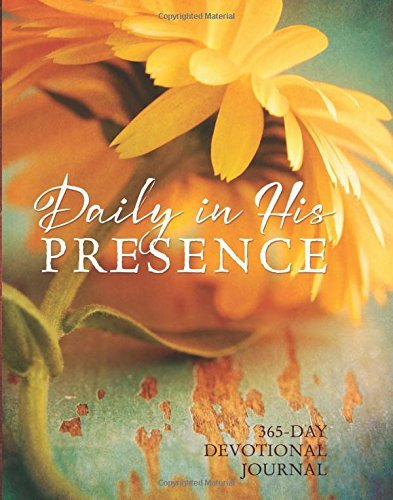 Ellie Claire Daily In His Presence A 365 Day Devotional Journal