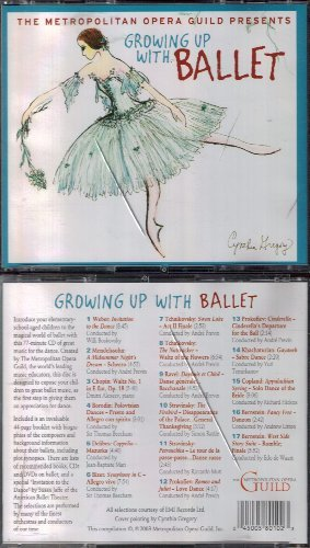 The Metropolitan Opera Guild Presents Growing Up With Ballet