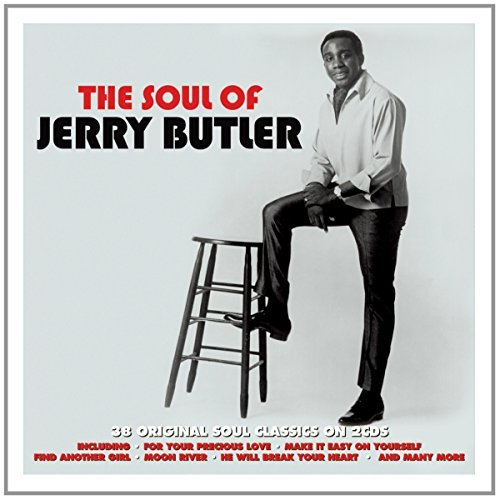 Jerry Butler Soul Of Import Gbr 2cd