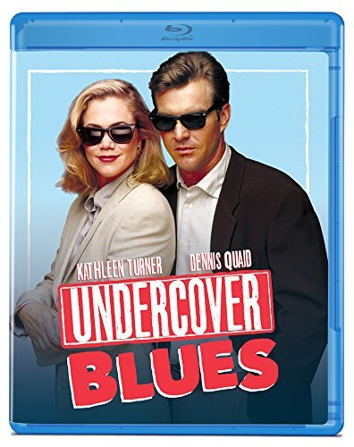 Undercover Blues Turner Quaid Shaw Tucci Miller Blu Ray Pg13