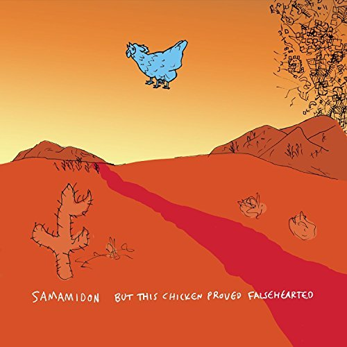 Sam Amidon But This Chicken Proved Falsehearted Translucent Blue Vinyl Includes Download Card