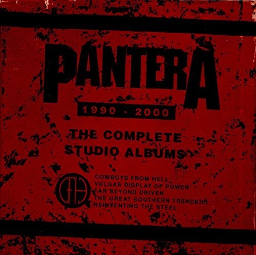 Pantera The Complete Studio Albums 1990 2000 5cd