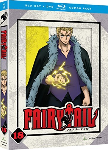 Fairy Tail Part 18 Blu Ray DVD
