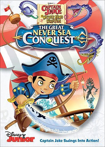Captain Jake & The Neverland Pirates The Great Never Sea Conquest DVD